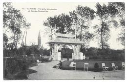 14 CALVADOS - CABOURG Garden-Tennis-Club, Vue Prise Des Jardins - Cabourg