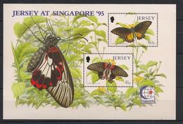 Jersey - 1995 - Bloc Feuillet BF N°Mi. 11 - Papillons / Butterflies - Neuf Luxe ** / MNH / Postfrisch - Mariposas