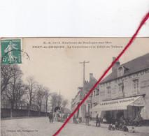 CP 62 -   PONT DE BRIQUES   -      Le Carrefour Et Le Débit De Tabacs - Unclassified