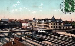 CPA - BÂLE - La Gare - Edition Schweizer - BS Bâle-Ville