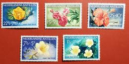 ANTILLE OLANDESI 1955 FIORI - Antillen