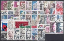 FRANCIA 1974 Nº 1783/1829 AÑO COMPLETO USADO 47 SELLOS - 1970-1979