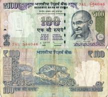 India / 100 Rupees / 2008 / P-98(n) / VF - India