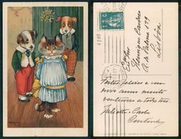[ OT 04339 ] - ILLUSTRATEUR - ILLUSTRATOR Artist Signed A E Kennedy CAT CHAT KITTEN KOT KAT KATZE N.º 550 - Andere Illustrators