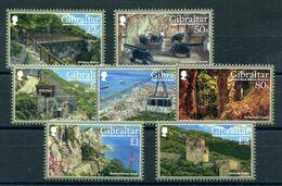 """Gibraltar - Mi.Nr. 1819 / 1825 - """"Naturschutzgebiet Upper Rock"""" ** / MNH (aus Dem Jahr 2017) - Gibraltar"""