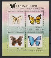 Guinée - 2014 - N°Yv. 7314 à 7317 - Papillons / Butterflies - Neuf Luxe ** / MNH / Postfrisch - Mariposas