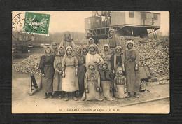 59 - DENAIN - Groupe De Cafus - 1913 - RARE - Denain