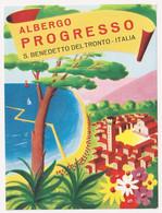 Albergo Progresso - S. Benedetto Del Tronto - & Hotel Label - Adesivi Di Alberghi