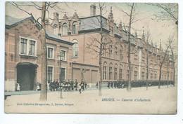Brugge Bruges Caserne D'Infanterie ( Gekleurd ) - Brugge