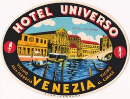 Hotel Universo Venezia - & Hotel Label - Adesivi Di Alberghi