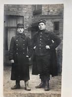 Photo Ak Soldats Belge Belgie Soldaten Militair Uniform Kepi Ijzerkepi Yserkepi - Oorlog 1914-18