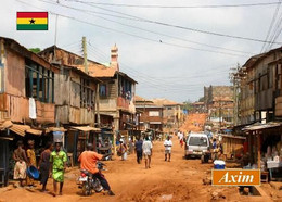 Ghana Axim Street View New Postcard - Ghana - Gold Coast