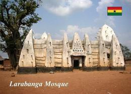 Ghana Larabanga Mosque New Postcard - Ghana - Gold Coast