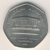 SRI LANKA 1976: 2 Rupees, KM 142 - Sri Lanka