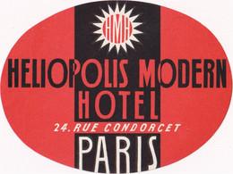 Heliopolis Modern Hotel - Paris - & Hotel Label - Etiquetas De Hotel