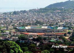Sierra Leone Freetown Overview Stadium New Postcard Stadion AK - Sierra Leone