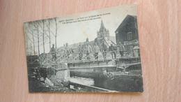 CPA - CAPPY (Somme) - Le Pont Sur Le Canal De La Somme - Andere Gemeenten