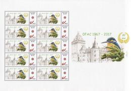 Buzin Ijsvogel  OFAC Jemeppe Mystamps Compleet Vel - Personalisierte Briefmarken