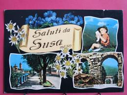 Italie - Saluti Da Susa - R/verso - Zonder Classificatie