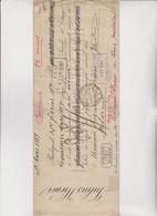 LETTERA  DI  CAMBIO - CAMBIALE BUDAPEST 1887. JULIUS  WIENER . CON MARCA  UNGHERESE - Bills Of Exchange