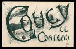CPA COUCY LE CHATEAU - écrite - Otros Municipios