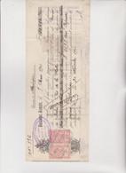 CAMBIALE - LETTERA DI CAMBIO.  BUENOS AIRES  1901 CON MARCHE  ARGENTINE E MARCHE FRANCESI - Cambiali