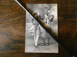 """Carte Postale  """" Montceau Les Mines, Section GAS""""  Danse Espagnole, Melles Brossard Et ...Voir 2 Scans - Montceau Les Mines"""