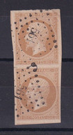 D 147 / NAPOLEON N° 13B PAIRE OBL COTE 80€ - 1853-1860 Napoleon III