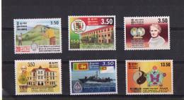 Sri Lanka - 2000 - 6 Commemorative Stamps. - MNH. - Sri Lanka (Ceilán) (1948-...)