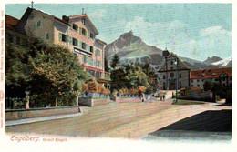 CPA - ENGELBERG - Hotel ENGEL - Edition Wehrli - OW Obwald