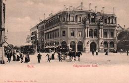 CPA - BERN - Eidgenössische Bank (Tramway) - Edition A.Wicky - BE Berne