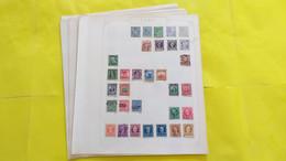 Lot N° TH 422 AMERIQUES DU SUD Et Divers   Collection Sur Page D'albums Obl. - Sammlungen (im Alben)