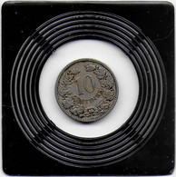 10 CENTIMES 1901 - Luxembourg