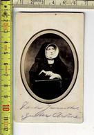 Kl 060 - PHOTO SŒUR DU MONASTÈRE - FOTO KLOOSTERZUSTER - Photographie - P.H. VAN DER BURGHT ARNHEM - Oud (voor 1900)