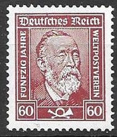 Reich Mh * Better Paper (gestrichenes Papier Michel 362y) 30 Euros For 10 % Only - Ungebraucht