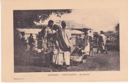Dahomey Porto Novo Au Marché éditeur E R - Dahomey
