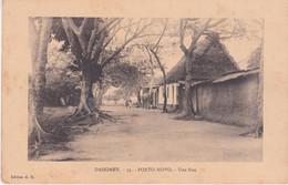 Dahomey Porto Novo Une Rue éditeur E R N°33 - Dahomey