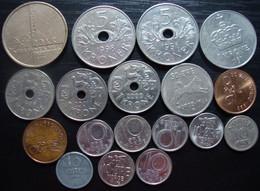 Lot De Monnaies De Norvège - Norway