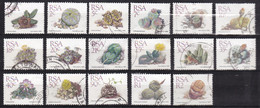 RSA - 2.500 Zegels - Cactussen/Cacti/Kakteen - O - Afgeweekt - Lots & Kiloware (mixtures) - Min. 1000 Stamps