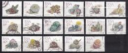 RSA - 2.500 Zegels - Cactussen/Cacti/Kakteen - O - Afgeweekt - Alla Rinfusa (min 1000 Francobolli)