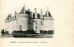 CPA -  LISIEUX - CHATEAU DE MAILLOC - Lisieux