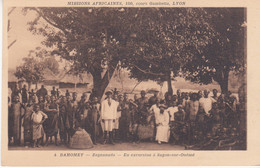 Dahomey Zagnanado En Excursion à Sagon Sur Ouémé N°4 - Dahomey