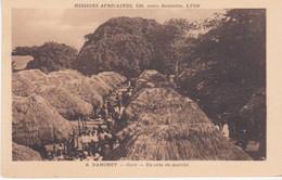Dahomey Cové Un Coin Du Marché N°6 - Dahomey