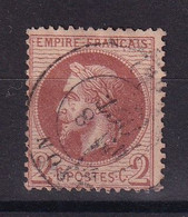 D 149 / LOT NAPOLEON N° 26A OBL COTE 50€ - 1863-1870 Napoléon III. Laure