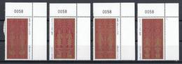 Laos 2001 Mi 1787 – 1790 MNH - Laos