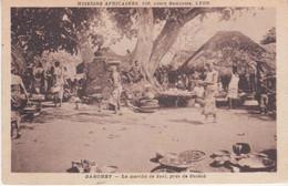 Dahomey Le Marché De Savi Près De Ouidah - Dahomey