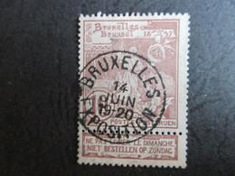 Nr  73 - Wereldtentoonstelling Brussel - Centrale StempelBruxelles Exposition - Coba +30 - 1894-1896 Tentoonstellingen