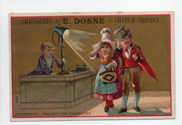 - CHROMO CHAUSSURES E. DOSNE - 14, Rue Du Pont, CHATEAU-THIERRY - Litho. BERLHE : ÉLECTRICITÉ - - Other