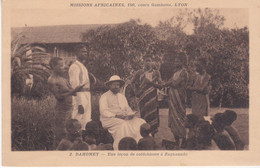 Dahomey Une Leçon De Catéchisme à Zagnanado N°2 - Dahomey