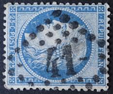 60B (cote 50 €) Obl GCR Refait 41a Aix-en-provence (12 Bouches Du Rhone ) Ind 1 ; Frappe Très Nette Et TB Centrée - 1849-1876: Periodo Classico